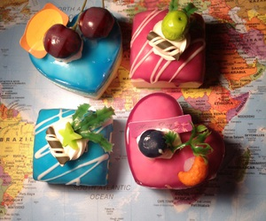 cakes, delicious, and magnetic image