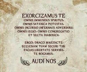 supernatural, demon, and exorcism image
