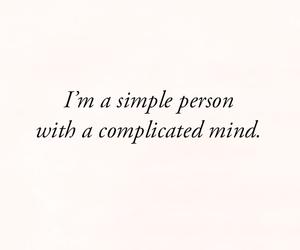 mind, person, and complicado image