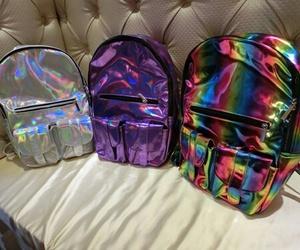 bag, backpack, and grunge image