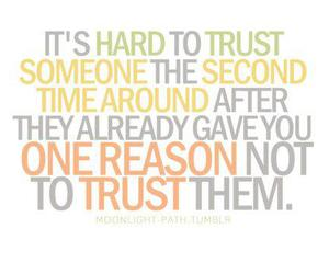 quote, trust, and text image