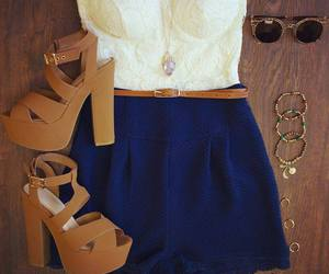 blue, shoes, and summer image