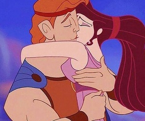 hercules, disney, and love image