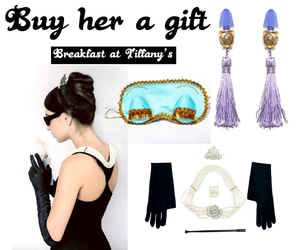 audrey hepburn and Breakfast at Tiffanys image