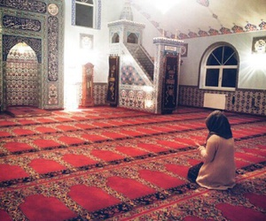 hijab, islam, and allah image