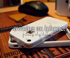 iphone, text, and just girly things image
