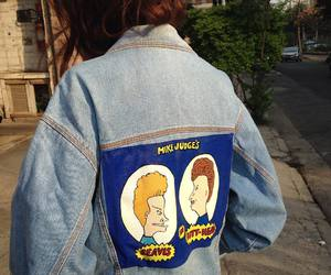 beavis and butthead, mtv, and pale image
