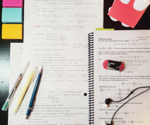 motivation, notes, and school image