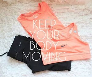 fitness, nike, and workout image