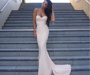 fashion, dress, and evening dress image