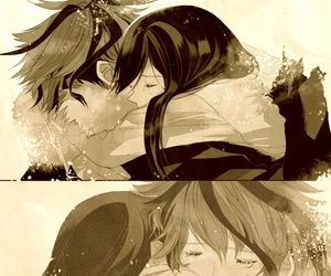 couple, cute, and love image
