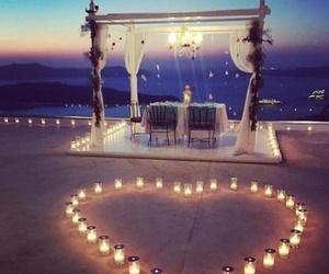 beach, heart, and beautiful image
