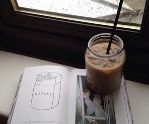 coffee, book, and tumblr image