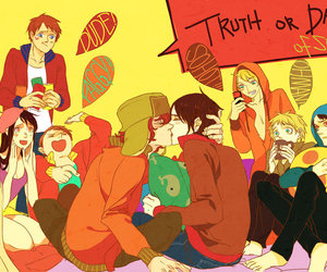 South park, kenny mccormick, and stan marsh image