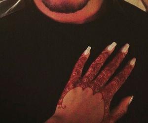 henna, nails, and lové image