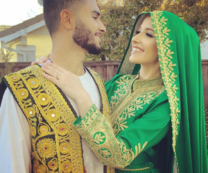 shoot me in the heart, afghan clothes, and afghan couple image