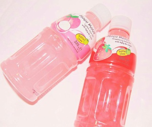drink, pink, and red image