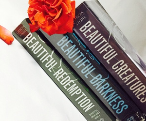 books, tumblr, and flowers image