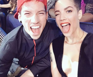 halsey, josh dun, and tøp image