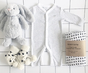 baby, bunny, and neutral image