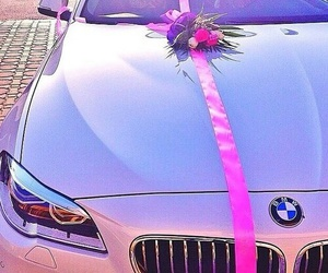 car, bmw, and gift image