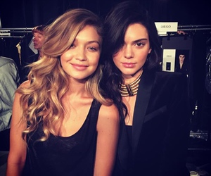 kendall jenner, gigi hadid, and girls image