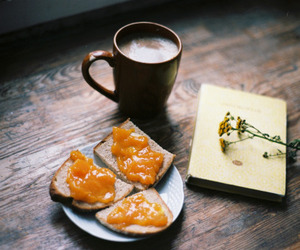 vintage, coffee, and food image
