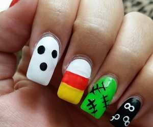 halloween nails image