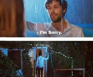funny, sorry, and rain image