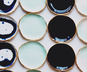 blue, Ceramic, and stationery image