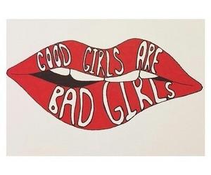 5sos, lips, and good girls image