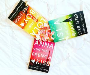 books, anna and the french kiss, and green image