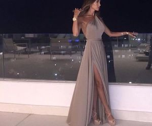dress, fashion, and night image