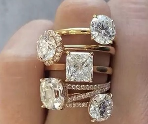 fashion, diamond, and rings image