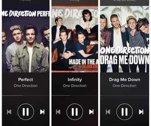 one direction, infinity, and drag me down image