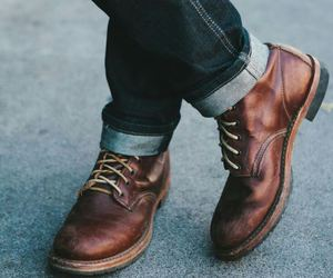 boots, men, and shoes image
