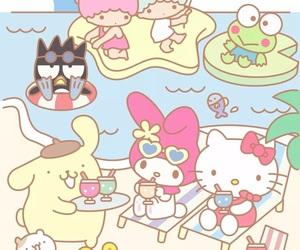 sanrio, hello kitty, and kawaii image