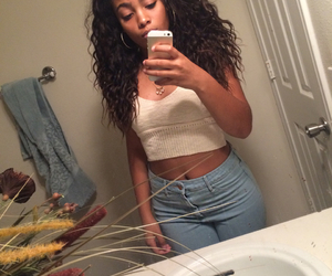 mixed, curlyhead, and @jordyynalexiss image