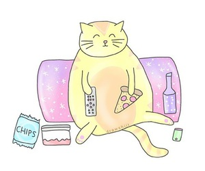 cat, fat, and overlay image