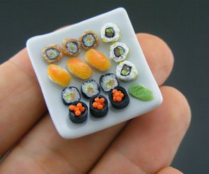 sushi, food, and mini image