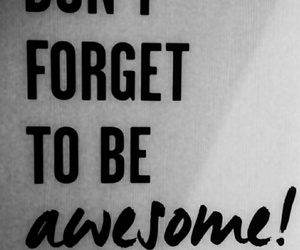 black white awesome quote image