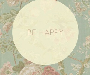 wallpaper, flowers, and happy image
