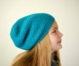 blue hat, bohemian, and turquoise image