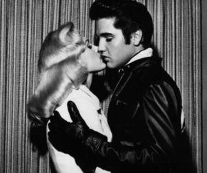 elvis, Elvis Presley, and kiss image