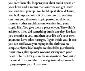 love, quotes, and hurt image