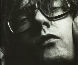 jarvis cocker and black and white image