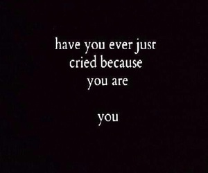 cry, sad, and quotes image