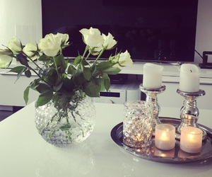 candels, cosy, and home image