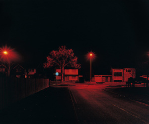 red, night, and grunge image