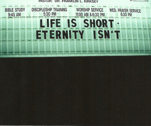 life, eternity, and quotes image
